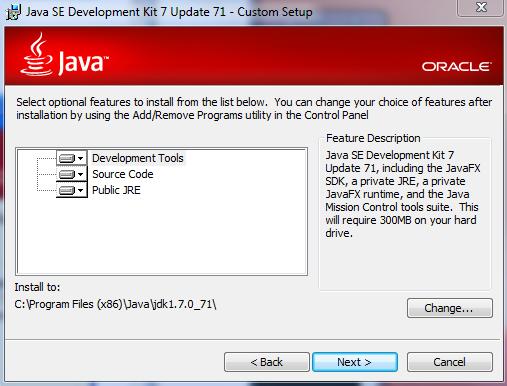 4 installer - Java Setup