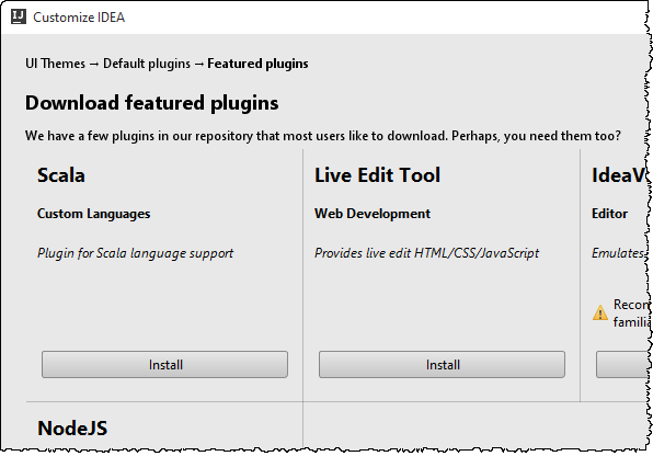 10 plugins - Java Setup