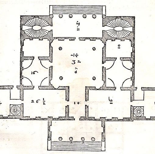 Module 2: Plan for Villa Cornaro, Palladio